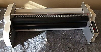 "LEDCO The Educator 25"" Thermal Roll Commercial Wide Laminator ED-25"