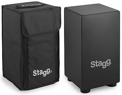 Stagg CAJ-40S Small sized wooden Cajon with Bag -