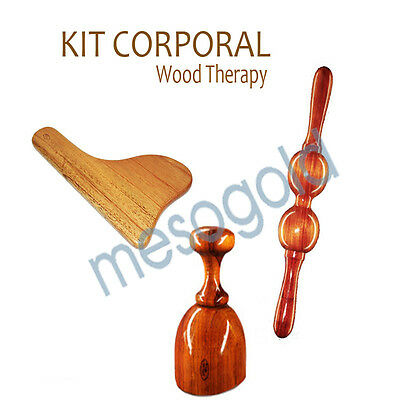 Body Kit Wood Therapy / Kit Corporal Maderoterapia