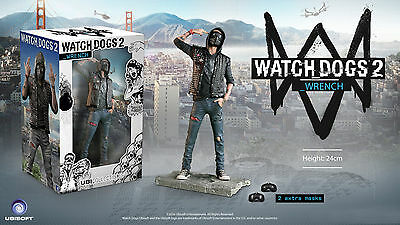 Watch_Dogs 2 Figurine: The Wrench (nuova new)