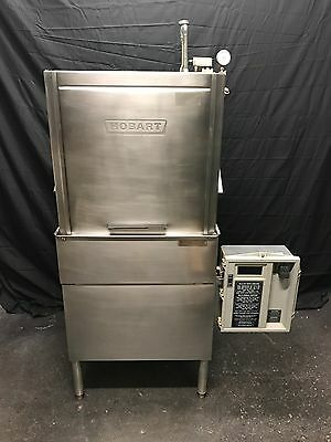 Hobart AM12 Commercial Pass Through Dishwasher Low Temp Good Shape