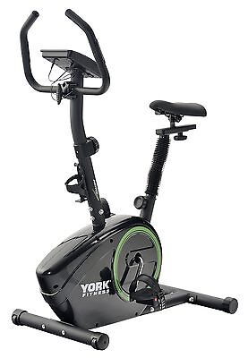 York Active 110 Exercise Cycle  - Black/Green -