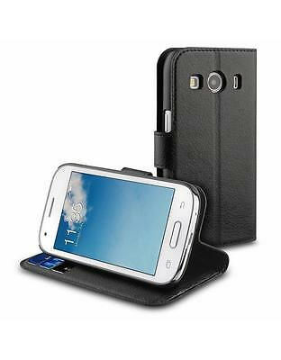 c3233c3d854 MUVIT SAMSUNG GALAXY ACE 4 (SM G357FZ) WALLET CASE BLACK leather-style cover