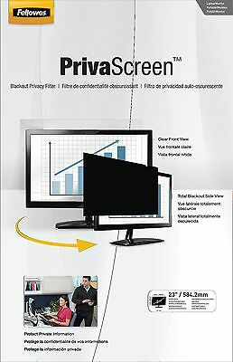 Fellowes PrivaScreen Privacy Filter 23.0-inch Widescreen 16:9 23.0-inch W 1... -