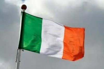 Ireland flag SEWN, FREE BAG, direct from manufacturer, buy social
