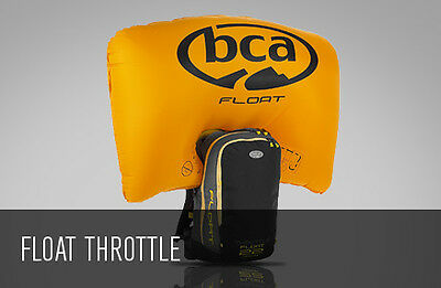 Arctic Cat BCA Float 22 Throttle Avalanche Airbag with Cylinder - Black & Grey