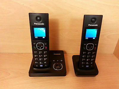 Panasonic KX-TG7862EB Telephone with Answer Machine Twin - Boxed