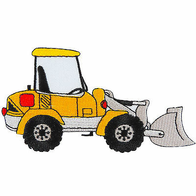 Front End Loader Truck Farm Tractor Digger Automobiles Iron on Patches #MC029