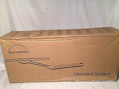 HumanScale Keyboard System 6G95011RF22 NEW