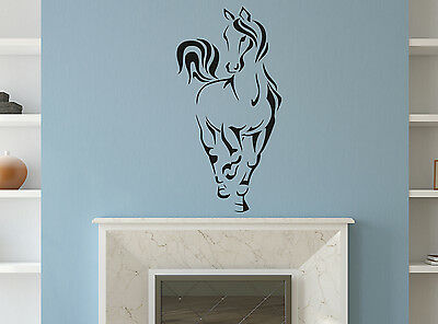 Personalised Horse Wall Sticker Mural Home Decal Room Vinyl Art Decor Mural Art