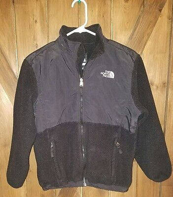 The North Face girls fleece jacket large