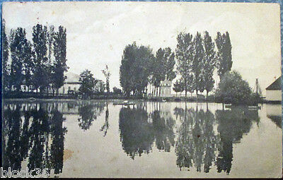 Russian card View on New-Athos monastery (mailed in 1916 from Sochi to Orsha)