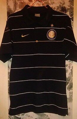 Football/Soccer Inter Milan Polo Shirt by Nike