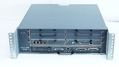 Cisco 7200 Series 7206 Enterprise WAN MPLS VPN Router 47-2953-01 w/ Modules