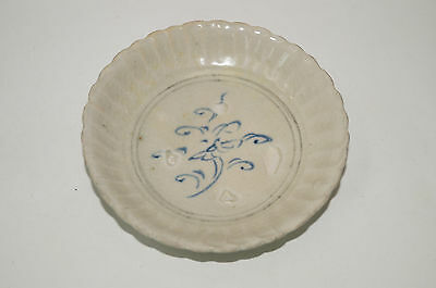 Rare Vietnamese Annamese blue and white soucer plate