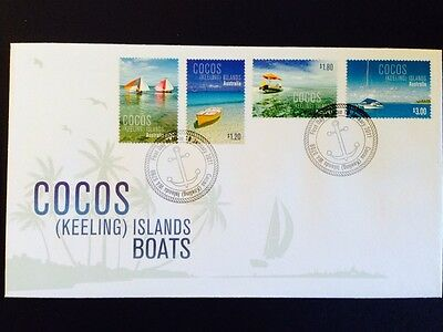 2011 Cocos (Keeling) Islands Boats  - First Day Cover FDC