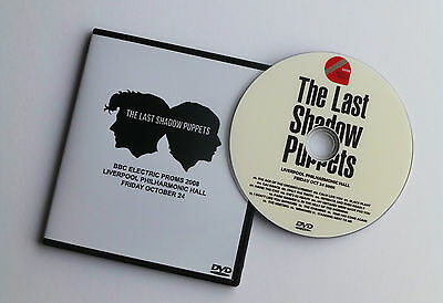 The Last Shadow Puppets Live Bbc Electric Proms 2008 Dvd