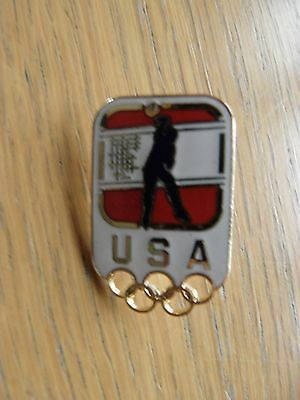 Rio 2016 Olympic USA Volleyball Pin Badge