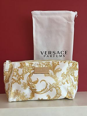 VERSACE PARFUMS LADIES MAKE UP POUCH  COSMETIC BAG Brand NEW!!!
