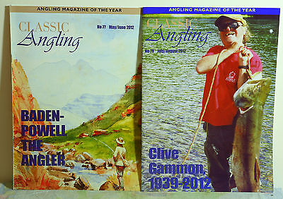 2 copies of CLASSIC ANGLING MAGAZINE - Nos. 77 & 78.