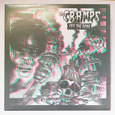 The Cramps Off The Bone Vinyl LP with 3D cover