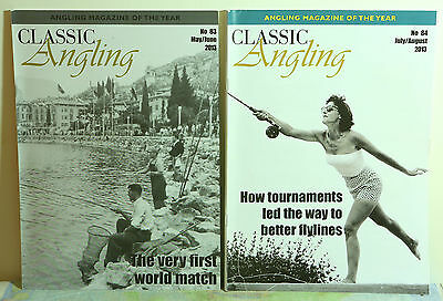 2 copies of CLASSIC ANGLING MAGAZINE - Nos. 83 & 84.