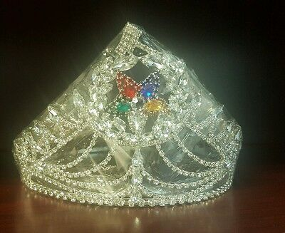 Order of the eastern star Grand Matron Crown with Wreath Silver