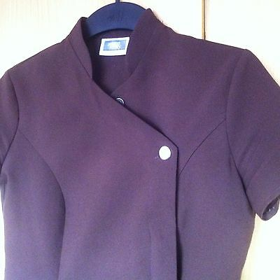 SIMON JERSEY HAIR & BEAUTY UNIFORM 2x tunic size 10, 1x trousers size 12
