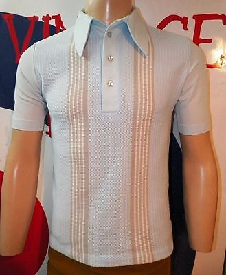 SMALL .-  STUNNING Mr CALIFORNIA  MEN´S  VINTAGE.( CHEST 38 / LENGHT 25)