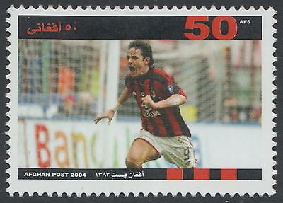 XG-D824 ITALY - Football, 2004 Afghanistan, Milan Champion Filippo Inzaghi MNH