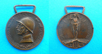 Commemorative Medal for the Italo-Austrian War 1915-1918  *  Italy vintage medal