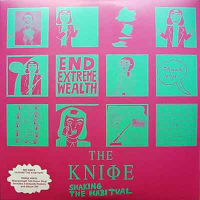 The Knife - Shaking The Habitual - Vinyl 3-LP (+2CD) / new&sealed / 2013