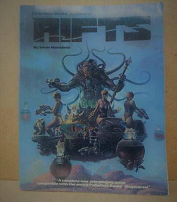 Palladium Role Playing Game Book RIFTS VGC