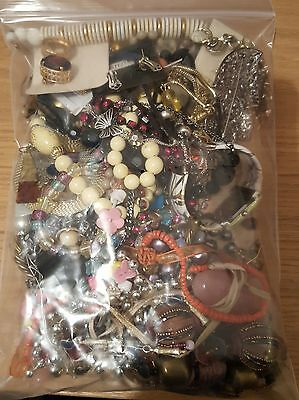 1.1kg job lot of jewellery spares ideal for a crafter