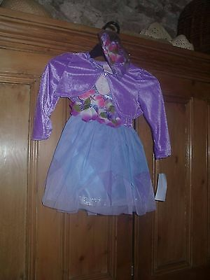 Designer  FAIRY/PARTY OUTFIT- MATCHING HAIRBAND-BNWT-BY FAIRY DUST 12-18MTH