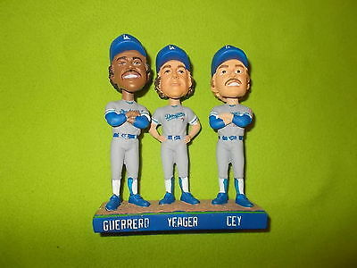 NEW BOOBLEHEAD TRI-MVPs 1981 WORLD SERIE LOS ANGELES DODGERS MLB