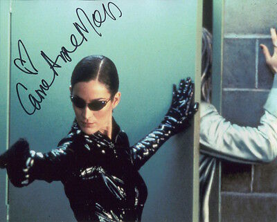 8x10 Photo Autres Tailles 1038488 Carrie-Anne Moss The Matrix Reloaded