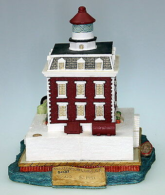 Harbour Lights Lighthouses - New London Ledge Connecticut - B. Younger Signed