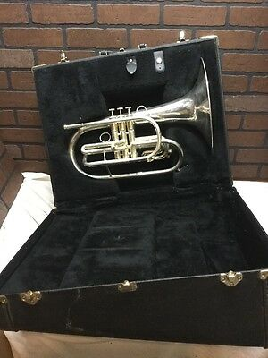 Accent USA Marching Mellophone - key F - With Case (stock#259)