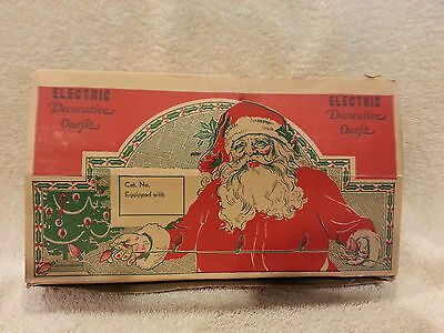 Vintage Christmas Lights  C6 Decorative Lighting Outfit Electric  Tree Propp