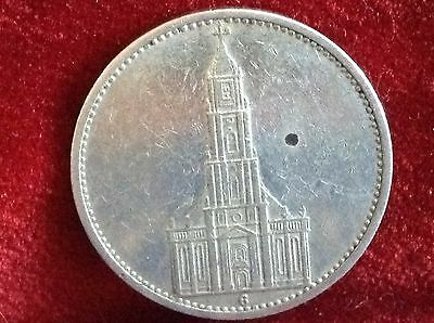 1934 G  Germany 5 Mark Silver Coin