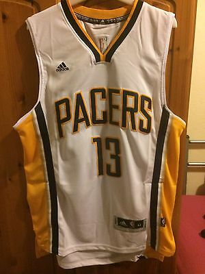 NBA Indiana Pacers Jersey Medium George 13 Basketball Vest