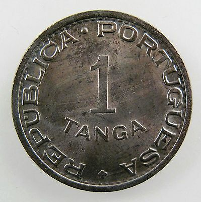 INDIA - PORTUGUESE. 1947 1 Tanga, Brilliant Uncirculated. KM-24