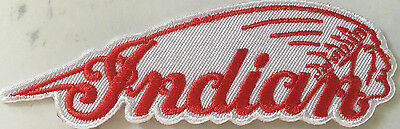 Indian Motorcycle  embroidered cloth patch. B020406