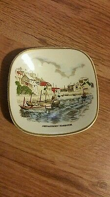 GRAY'S POTTERY Small plate Mevagissey Harbour