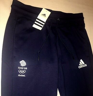 RIO Olympics 2016 TEAM GB Sweat Pants Training Bottoms ATHLETE ISSUE BNWT UK 8