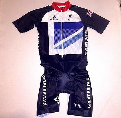 Olympic Team Gb Cycling Skinsuit Official Rider Issue Great Britain Bnib Small