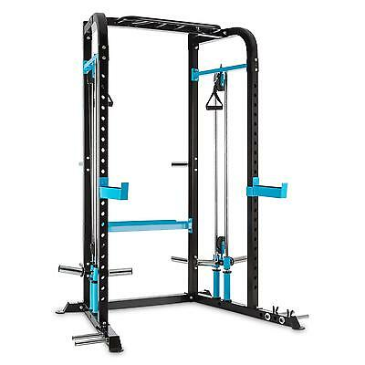 Home Gym Power Rack 2 Safety Spotter  Cable Pull 30/50 Mm Weight Chin Up Metal