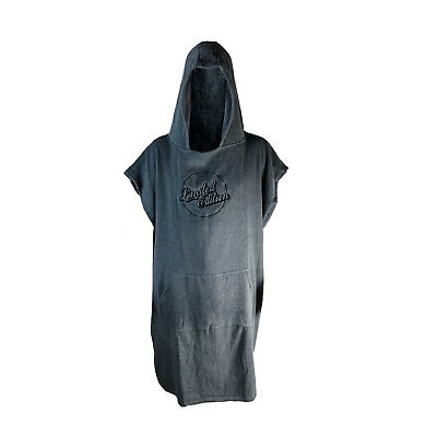 Limited Edition Hooded Poncho Towel - Grey