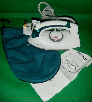 KENWOOD Discovery TRAVEL STEAM IRON model ST50 vgc WORKING (C)